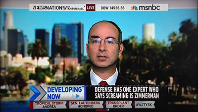MSNBC interview of NCAVF expert witness Notowitz by Tamron Hall