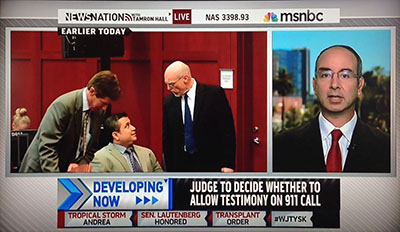 MSNBC interview of NCAVF forensic expert witness Notowitz by Tamron Hall